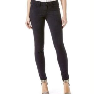 Level 99 womens faux suede skinny jeans 27